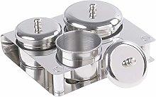 Nail Liquid Dish,Liquid Powder Cup,Stainless Steel