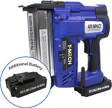 Nail & Staple Gun with Additional Battery - T-mech