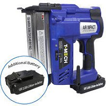 Nail & Staple Gun with Additional Battery - T-mech