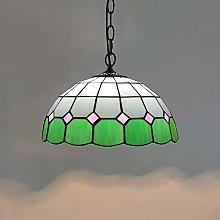 Naiyn E27 Farmhouse Ceiling Hanging Light Tiffany
