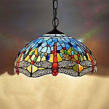 Naiyn Tiffany Stained Glass Ceiling Hanging Light