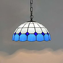 Naiyn Tiffany Stained Glass Chandeliers E27