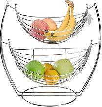 Najer 2-Tier Fruit Tree Bowl Fruit Vegetable