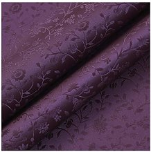 NAKAN Floral Pattern Faux Leather Fabric By The