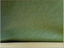 NAKAN Olive Green PU Leather Faux Leather Fabric