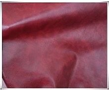 NAKAN Red Leatherette Vinyl Leather Cloth Vintage