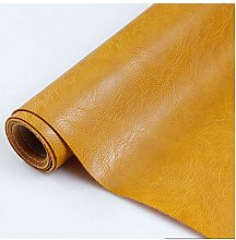 NAKAN Solid Color PU Synthetic Leather Fabric