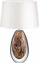 nakw88 Ceiling light Glazed Amber Desk Lamp36x60cm