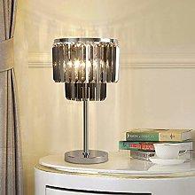 nakw88 Desk lamp Simple Luxury Crystal Table Lamp