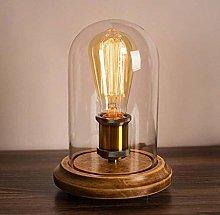 nakw88 Table Lamp Desk Lamp Loft Solid Wood