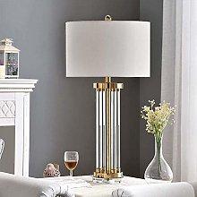nakw88 Table Lamp LED Gold Simple Glass Tube