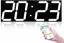 nakw88 Wall clock 4 digit wall clock with LED box,