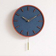 nakw88 Wall clock Creative wall clock wooden wall