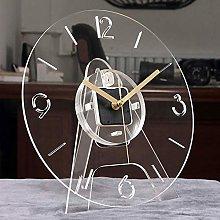nakw88 Wall clock Hanging clock transparent