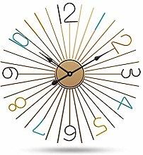 nakw88 Wall clock Nordic original iron watch