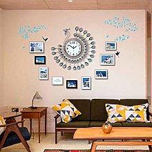 nakw88 Wall clock Wall clock simple peacock clock