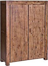 Nala 2 Door Wardrobe Union Rustic