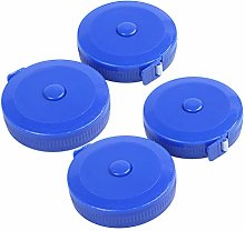 Naliovker 4Pcs Blue Round Retractable Tailors