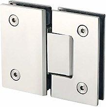 Naliovker Heavy Duty 180 Degree Glass Door Cabinet