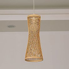 NAMFMSC Modern Simple Bamboo Weaving Chandelier