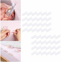 NANANA Invisible Bed Sheet Grippers, Bed Sheet