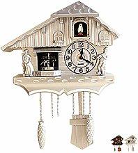 NANANA Quartz Cuckoo Clock Black Forest House,