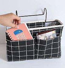 NANAOUS Bed Storage Organizer Hanging Bag, 11.8 x