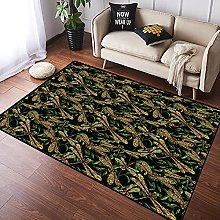 NANITHG Area Rugs Artistic Pattern with