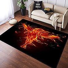 NANITHG Area Rugs fire Angel Soft Large Carpets