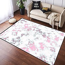 NANITHG Area Rugs marble background with rose gold