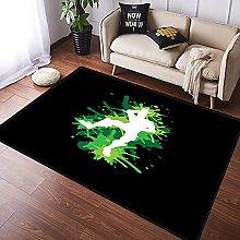 NANITHG Area Rugs motion dancer Soft Large Carpets