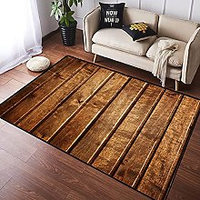 NANITHG Area Rugs the brown wood texture with