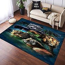 NANITHG Area Rugs Tiger Soft Large Carpets Rug