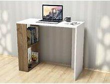 Nano Desk - with Shelves - for Office, Bedroom -