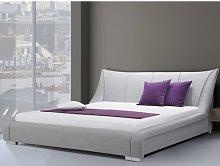 Nantes European Kingsize Upholstered Bed Frame