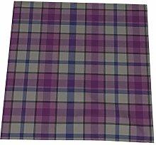 Napkin cloth Set of 4, Heather Tartan Napkins
