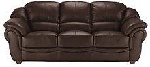 Napoli 3-Seater Leather Sofa