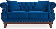 Naropa 2 Seater Chesterfield Sofa Rosalind Wheeler