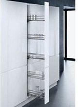 Narrow Pull-Out Basket Larder Unit with