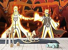 Naruto 3D Self Adhesive Wallpaper Cartoon Boys