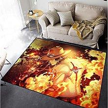 Naruto Household Rectangular Cartoon Carpet