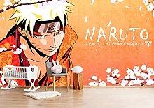 Naruto Wall Murals Modern Contracted Bedroom Self