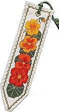 Nasturtium Bookmark Cross Stitch Ki