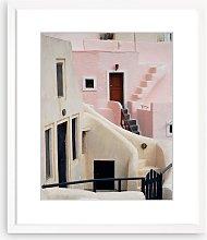 Natasha Maiolo - Santorini Framed Print & Mount,
