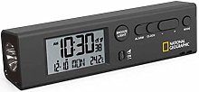 National Geographic Wireless World Clock with