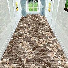 National Style Hallway Corridor Area Rug Leaf
