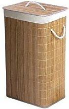 Natural Bamboo Laundry Basket