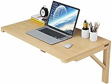 Natural Bamboo Wall-mounted Drop-leaf Table,