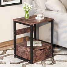 Natural Bedside Tables, Bedside Cabinet with 1