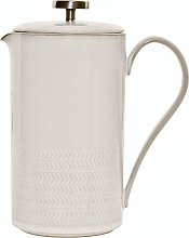 Natural Canvas Textured Cafetiere Seconds